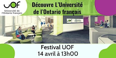 Festival UOF - 14 avril 2021 billets
