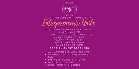 Entrepreneur's Unite: Workshop & Soul Food Bruncheon tickets