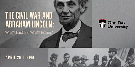 One Day University Event Presents: The Civil War and Abraham Lincoln tickets