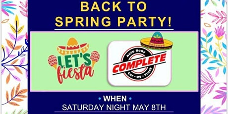 Back to Spring Party! Live Music and Food tickets