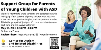 Support Group for Parents of Young Children with ASD #3631