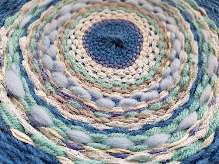 Circular Woven Wall Hanging image