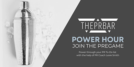 THEPRBAR Power Hour - PR Co-working Session tickets