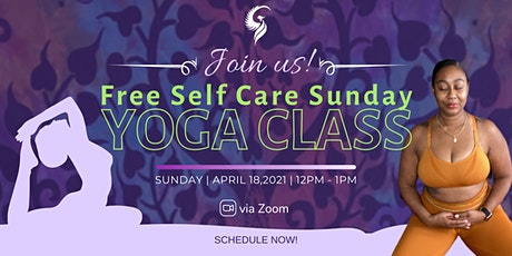 Free Self-Care Sunday Yoga Class tickets