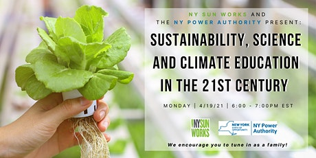 Sustainability, Science and Climate Education in the 21st Century tickets