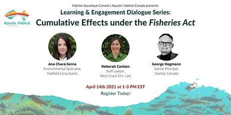 Learning & Engagement Dialogue: Cumulative Effects under the Fisheries Act tickets