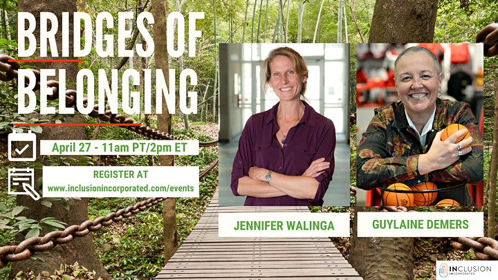 Bridges of Belonging #26 w/Jennifer Walinga & Guylaine Demers image