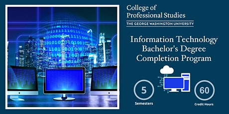 IT Bachelor's Degree Completion Program Online Info Session (via Webex) tickets