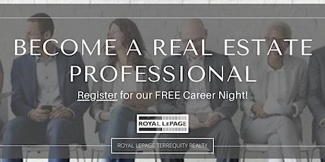 Real Estate as a Career - Virtual Seminar tickets
