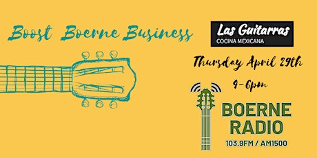 Boerne Radio's Boost Boerne Business Networking Event tickets