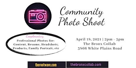 Community Photo Shoot tickets