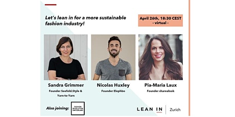 Let's lean in for a more sustainable fashion industry! tickets