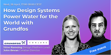 How Design Systems Power Water for the World with Grundfos // UX Talk tickets