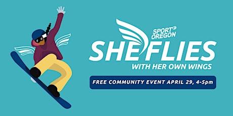 She Flies Presents: Girls in the Game biglietti