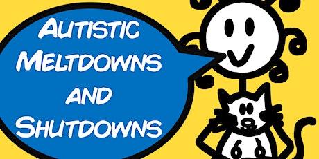 Meltdowns & Shutdowns (1 hour webinar with Sam) tickets