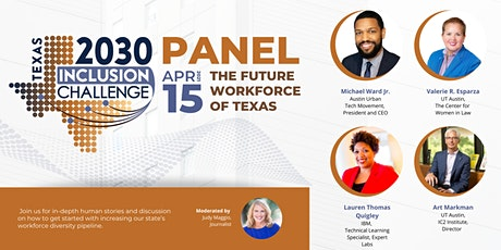 The Future Workforce of Texas - Texas 2030 Inclusion Challenge tickets