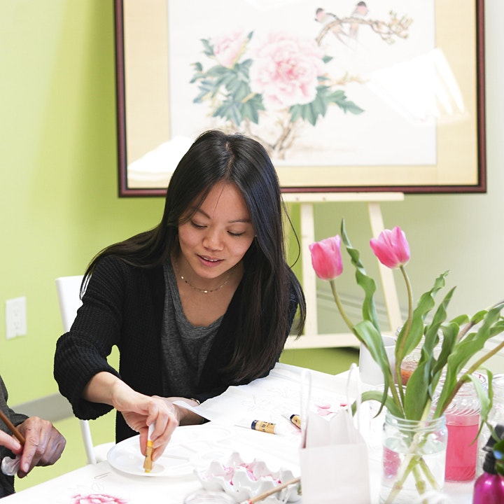 Morning Tea & Landscape Watercolour Painting with Carmen Chan image