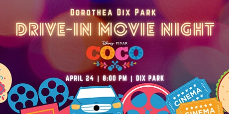 Movies at Dix Park -  Family Drive In - Coco tickets