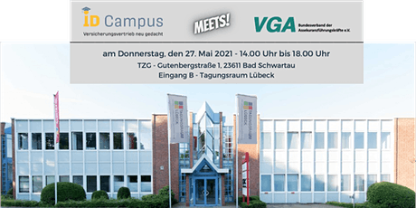 ID Campus meets VGA - Hamburger Assekuranzclub Tickets