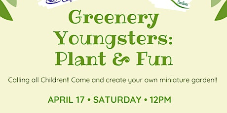 Greenery Youngsters Word Up tickets