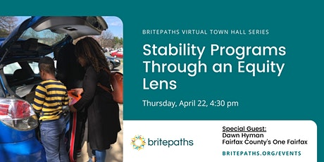 A Town Hall Discussion: Stability Programs through an Equity Lens tickets
