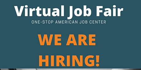 VIRTUAL JOB FAIR tickets