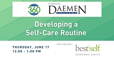 BN360 Event: Developing a Self-Care Routine