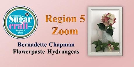 Flowerpaste Hydrangeas with Bernadette Chapman tickets