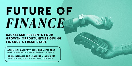 Backslash Presents: The Future of Finance tickets