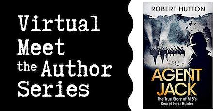"Virtual Talk: ""Agent Jack"" with Robert Hutton tickets"