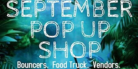 September Pop Up Shop tickets