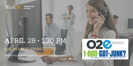 O2E Brands Hiring Event tickets