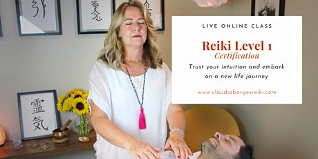 Reiki Level 1 Certification Class tickets