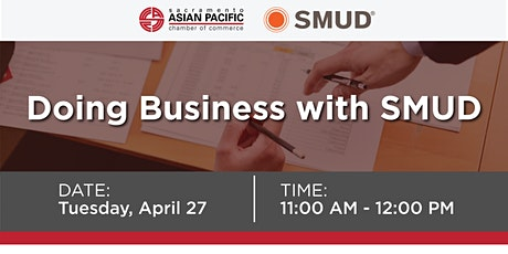 Doing  Business with SMUD tickets