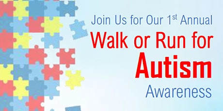 1st Annual Autism Awareness Walk tickets