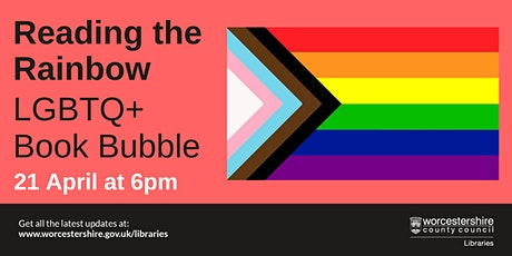Reading the Rainbow - LGBTQ+ Book Bubble tickets