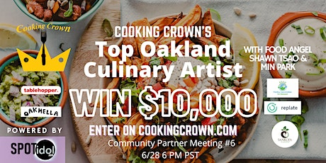 Top Oakland Culinary Artist Community Partner Meeting #6 tickets