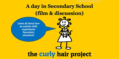 A day in Secondary School (Film + discussion 1 hour webinar with Lucy) tickets