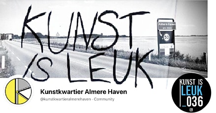 Kunstkwartier Almere Haven bij Kunst is Leuk! tickets