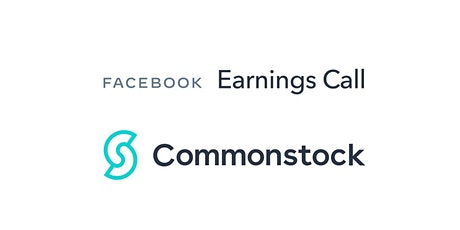 Facebook Q1 Earnings Call Group on Commonstock billets