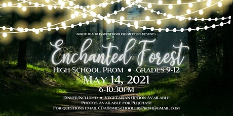 Enchanted Forest Homeschoolers Prom tickets