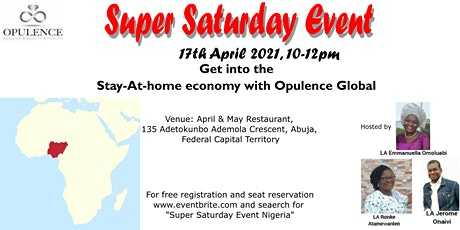 Super Saturday Event tickets
