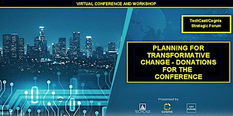 Planning for Transformative Change - Donations for the June 30 Conference tickets