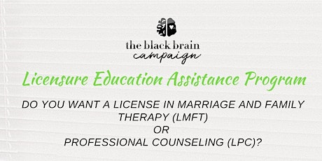 Licensure Education Assistance Program (LEAP) tickets
