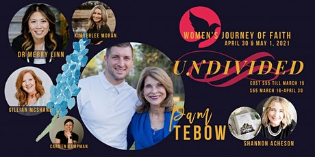 Women's Journey of Faith - Undivided In-Person tickets