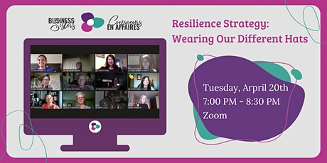 "Business Sisters - Virtual Networking ""Wearing Different Hats"" tickets"