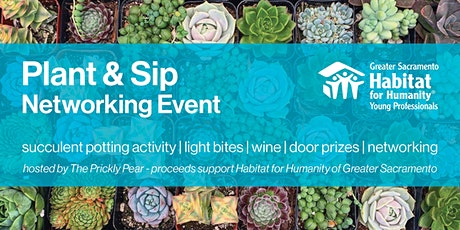 Plant and Sip - Habitat Young Professionals Networking Event tickets