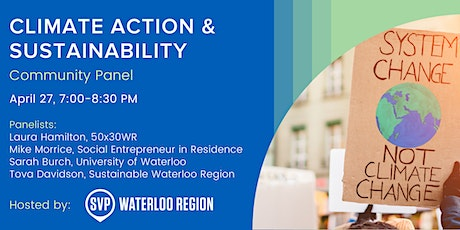 Climate Action & Sustainability: Community Panel tickets