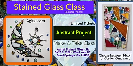 Stained Glass TGIF Moon Project- ADULTS 21 and Up Only tickets