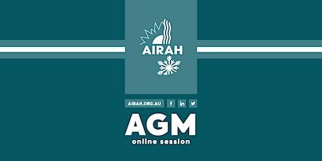 AIRAH AGM (online) tickets